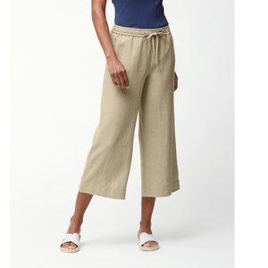 Tommy Bahama Two Palms Linen Easy Cropped Pants